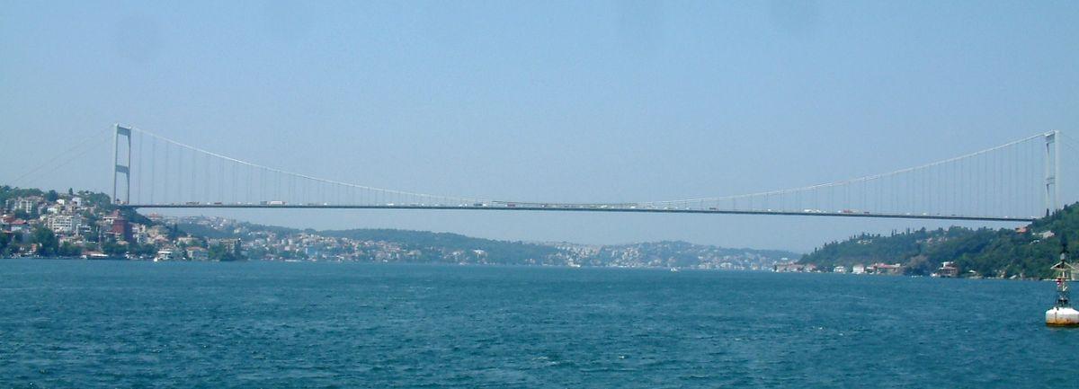 بالصور جسر السلطان محمد الفاتح , اكبر جسر فى تركيا 156