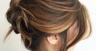 صورة اسهل تسريحات الشعر القصير , تالقي باجمل فورمات الكارلي