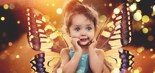صور كلمات عن الطفل , عبارات جميلة لطفولة بريئة