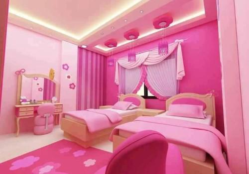 Room Decor Bedroom Teenage Pink