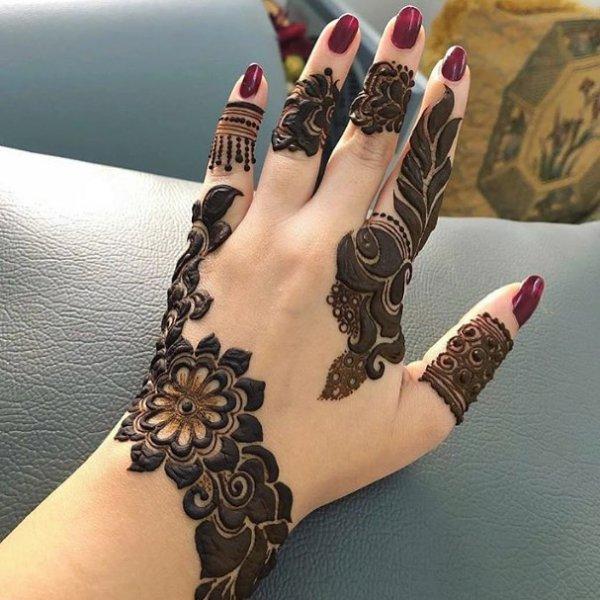 نقوش حناء سودانية رسومات لتزيين يد وقدم العروسه الحبيب للحبيب