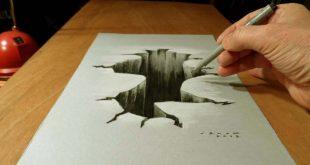 الرسم على الورق , صور حلوة للمهتمين بالرسومات الثري دي