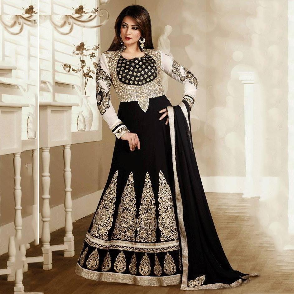 صور فساتين هندية فخمة , السارى الهندى من اقدم الفساتين الهندية