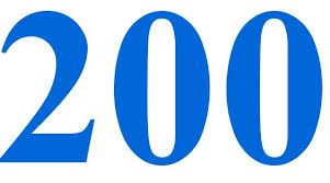 رقم 200 في المنام كنج كونج