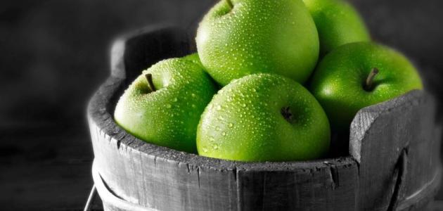 بالصور اكل التفاح الاخضر في المنام , معني تناول التفاح الاخضر في الحلم unnamed file 868