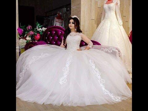 احلى فستان عروس , افضل فساتين زفاف  الحبيب للحبيب
