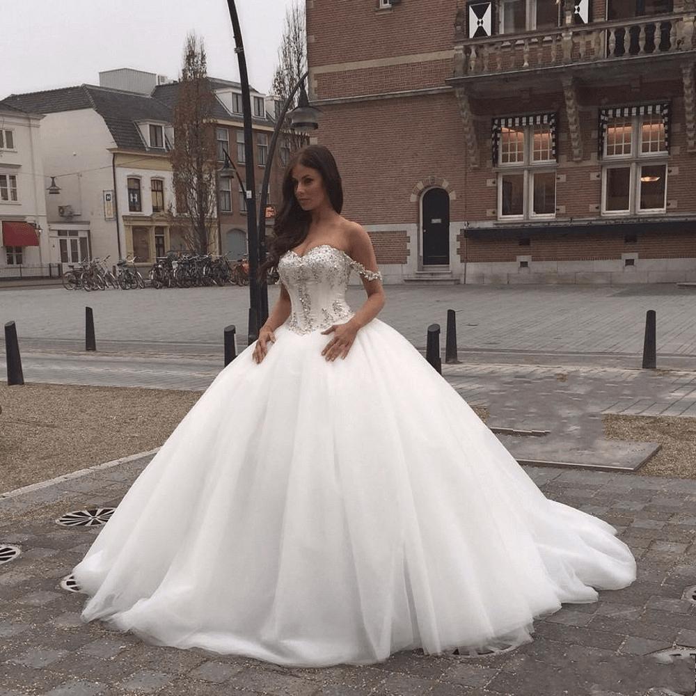 صور اجمل فستان عروس , اروع فساتين زفاف