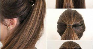 بالصور تسريحات الشعر بسيطة , اجمل التسريحات السهلة والسريعة 1154 13 310x165