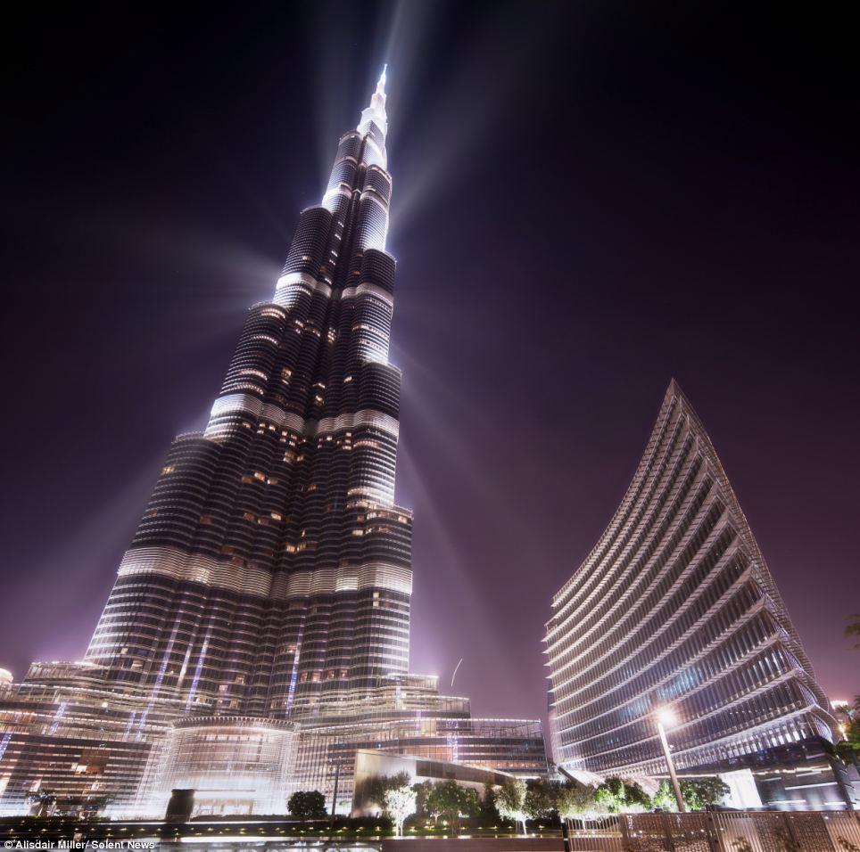 بالصور كم يبلغ طول برج خليفة , كم يبلغ ارتفاع برج خليفة 268 1