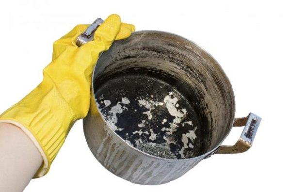بالصور تنظيف الاستانلس من الحرق , خلطات مجربة لتلميع الاواني 4304 1