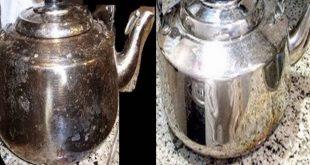 بالصور تنظيف الاستانلس من الحرق , خلطات مجربة لتلميع الاواني 4304 3 310x165