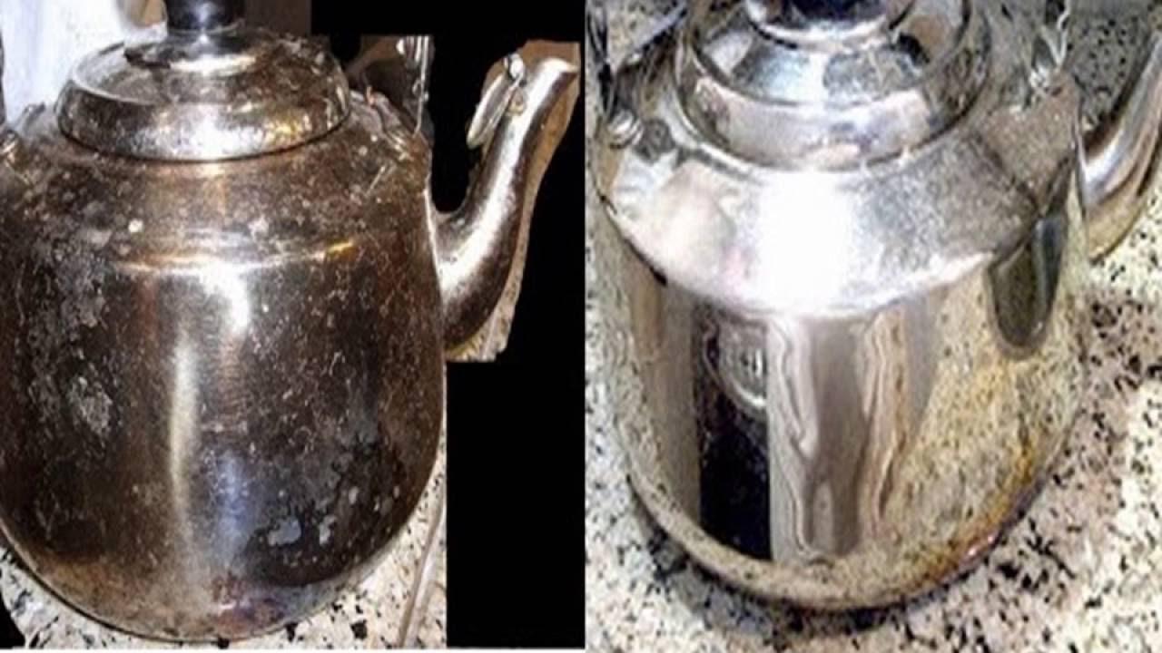 بالصور تنظيف الاستانلس من الحرق , خلطات مجربة لتلميع الاواني 4304