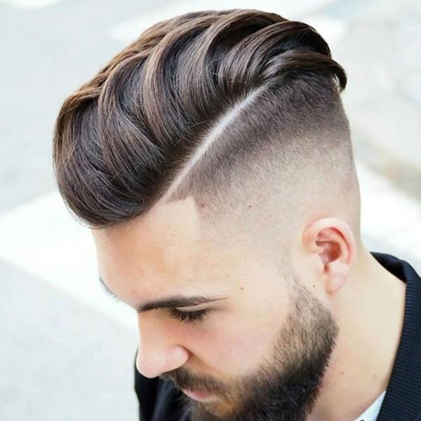 بالصور اجمل قصات الشعر الرجالي , موديلات لشعر الشباب 4353