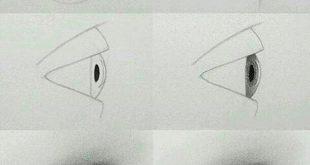 بالصور كيفية رسم العيون , تعلمي فن الرسم باحتراف 4402 12 310x165