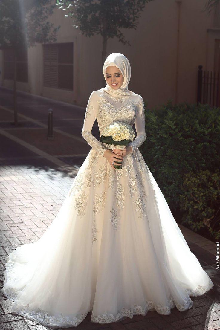 بالصور صور فساتين الزفاف للمحجبات , تصاميم كثيرة و لكى عزيزتى المحجبة ان تختارى 5639 1