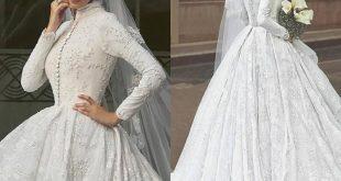 بالصور صور فساتين الزفاف للمحجبات , تصاميم كثيرة و لكى عزيزتى المحجبة ان تختارى 5639 13 310x165