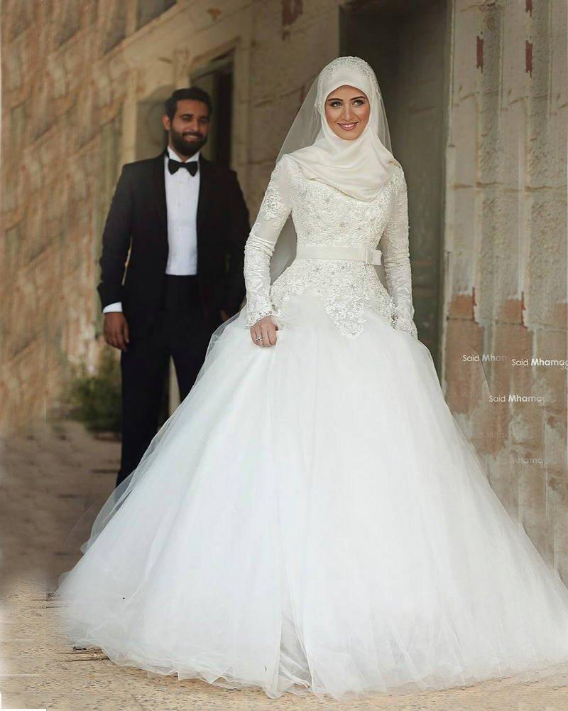 بالصور صور فساتين الزفاف للمحجبات , تصاميم كثيرة و لكى عزيزتى المحجبة ان تختارى 5639 2