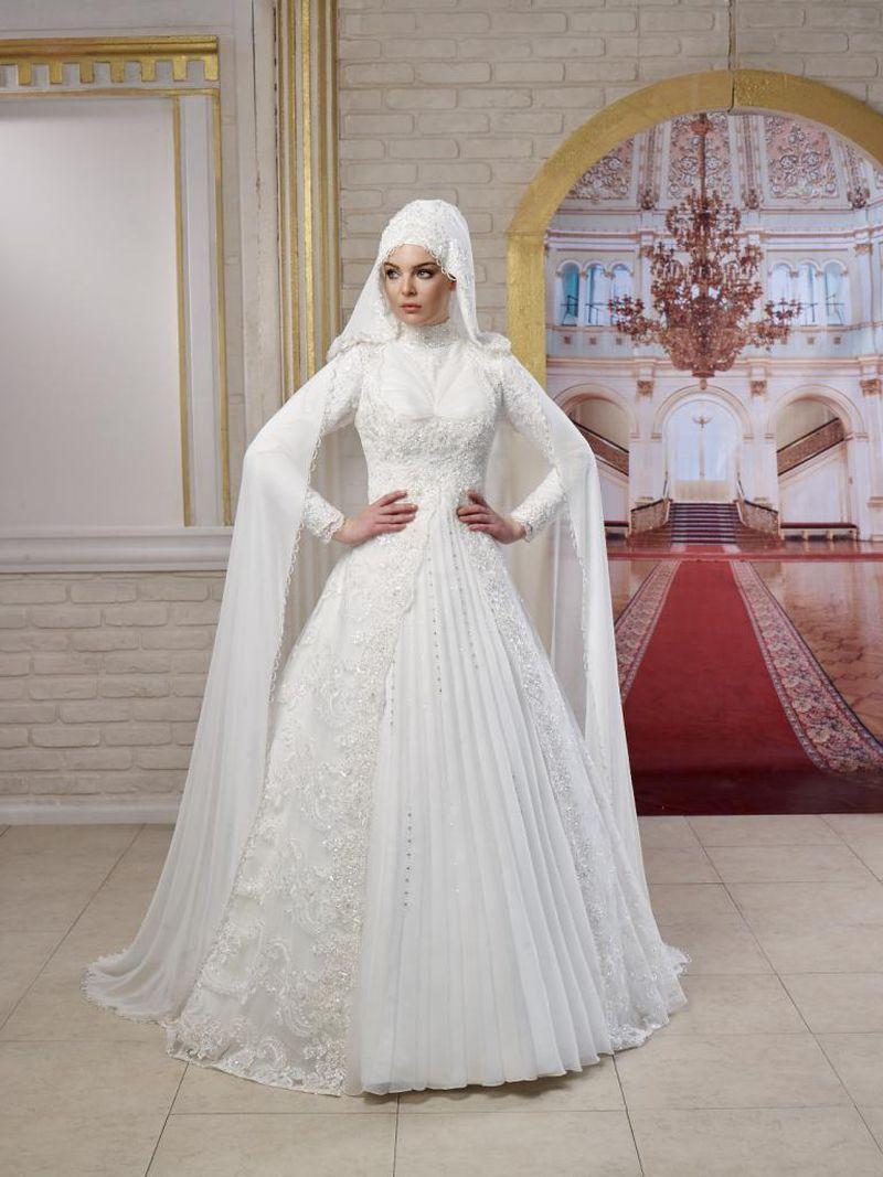 بالصور صور فساتين الزفاف للمحجبات , تصاميم كثيرة و لكى عزيزتى المحجبة ان تختارى 5639 3