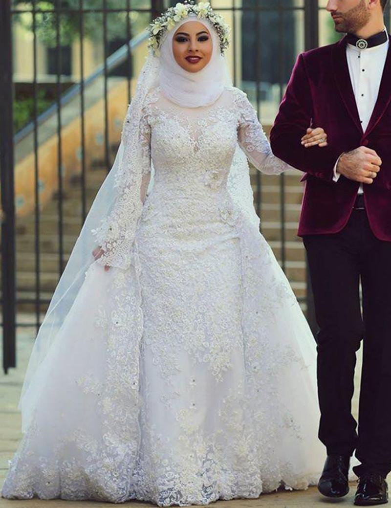 بالصور صور فساتين الزفاف للمحجبات , تصاميم كثيرة و لكى عزيزتى المحجبة ان تختارى 5639 5