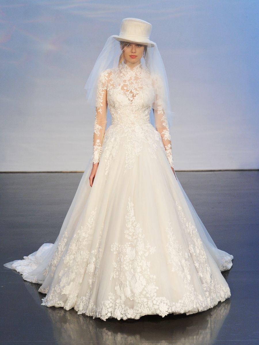 بالصور صور فساتين الزفاف للمحجبات , تصاميم كثيرة و لكى عزيزتى المحجبة ان تختارى 5639 7