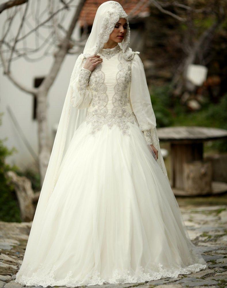 بالصور صور فساتين الزفاف للمحجبات , تصاميم كثيرة و لكى عزيزتى المحجبة ان تختارى 5639 8