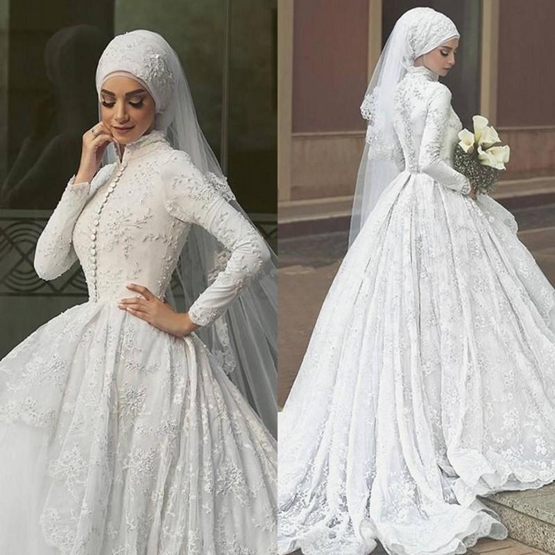بالصور صور فساتين الزفاف للمحجبات , تصاميم كثيرة و لكى عزيزتى المحجبة ان تختارى 5639
