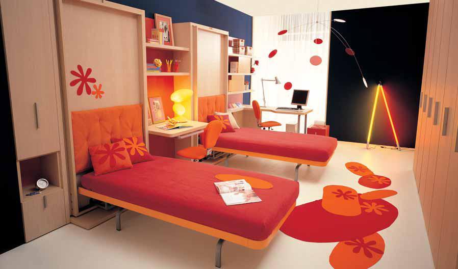 بالصور غرف نوم صغيرة المساحة للاطفال , اجمل واحلي غرف صغيرة للاطفال 596 1