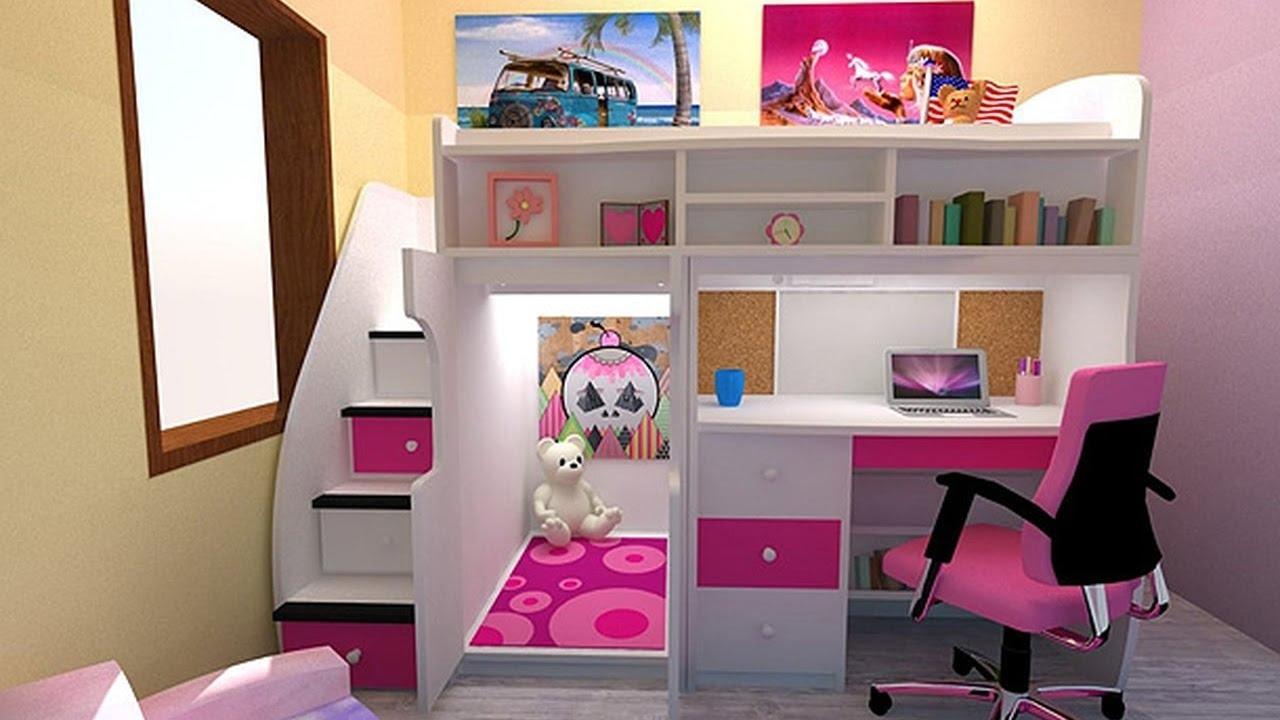 بالصور غرف نوم صغيرة المساحة للاطفال , اجمل واحلي غرف صغيرة للاطفال 596 2