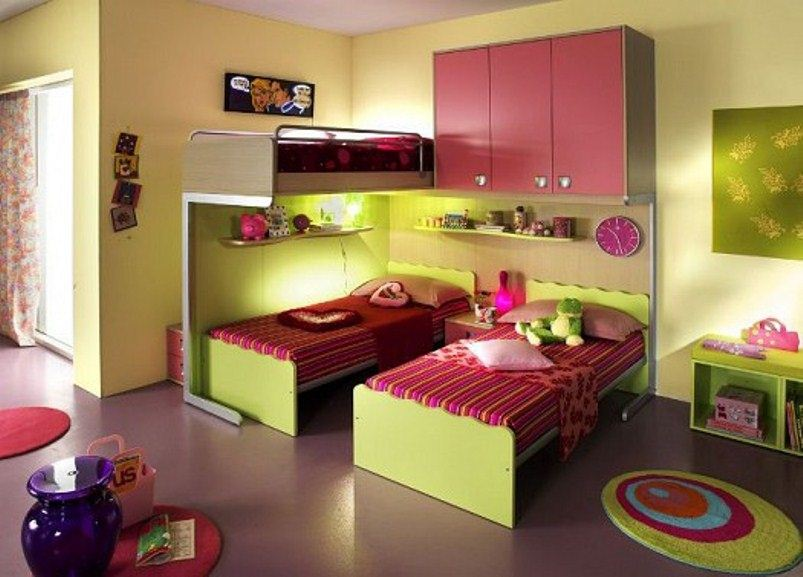بالصور غرف نوم صغيرة المساحة للاطفال , اجمل واحلي غرف صغيرة للاطفال 596 4