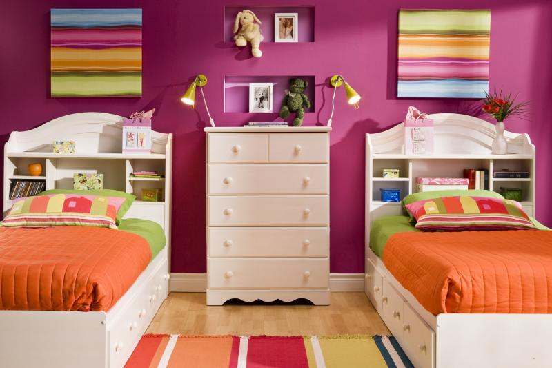 بالصور غرف نوم صغيرة المساحة للاطفال , اجمل واحلي غرف صغيرة للاطفال 596 5