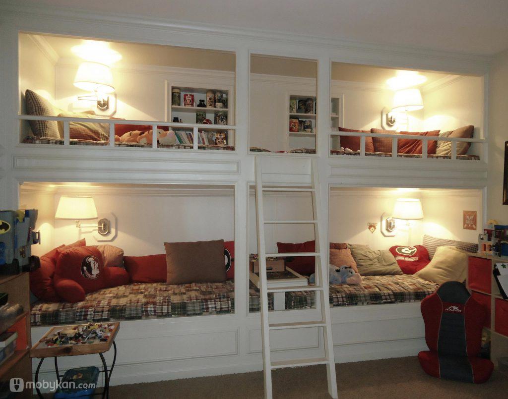 بالصور غرف نوم صغيرة المساحة للاطفال , اجمل واحلي غرف صغيرة للاطفال 596 7