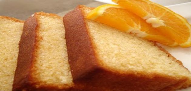 صورة عمل كيك البرتقال , طريقة جديدة لعمل كيك بطعم البرتقال