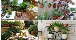 صور ديكور حديقة المنزل , اجدد الافكار البسيطة لتصميم ديكور حديقة المنزل