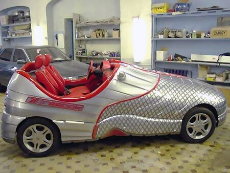 صورة صور سيارات غريبه , اكثر صور السيارات غرابة