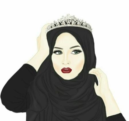 صور صور بنات محجبات كرتون , اجمل الرمزيات للفتيات المرتدين الحجبات