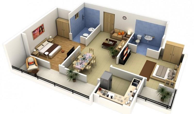 صور تصميم بيت صغير , طرق التعامل مع مساحات البيوت الصغيرة