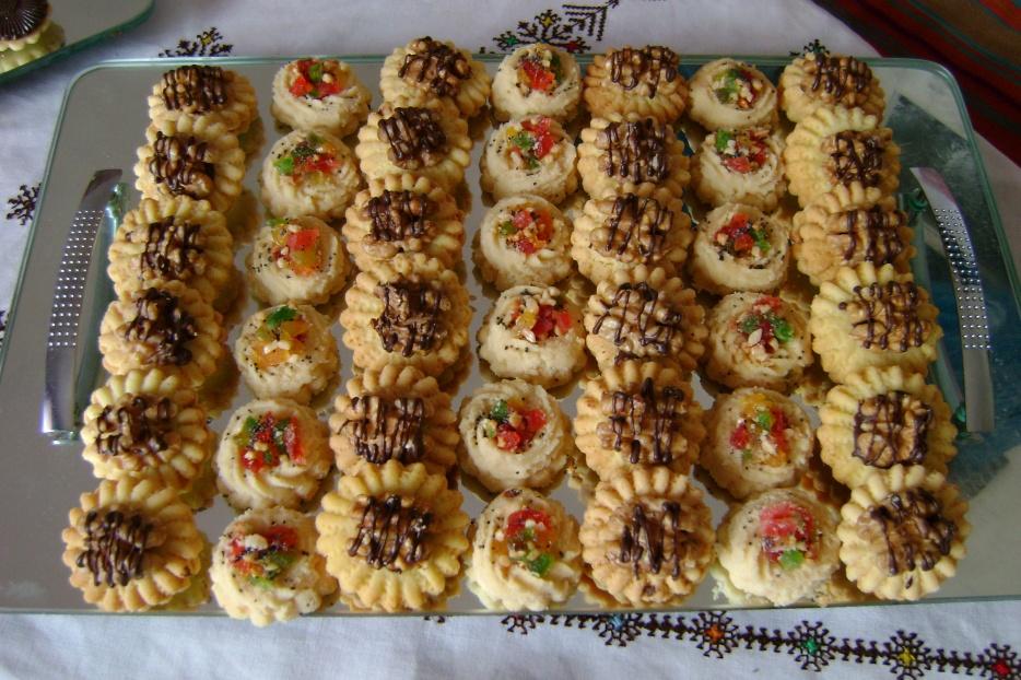 صورة حلويات اعراس جزائرية , اشهر حلويات الافراح في دولة الجزائر