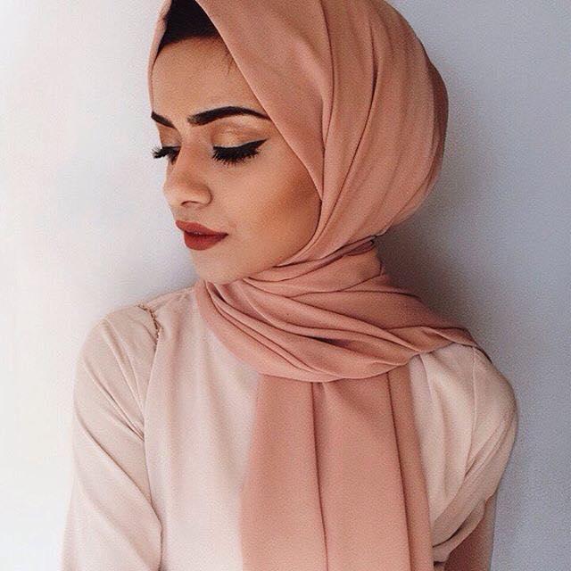 صورة لفات الطرح للمحجبات , اجمل لفات الحجاب