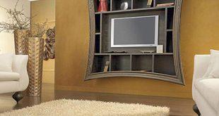 صور ديكورات تلفزيون جبس , احدث صور لديكورات الجبس في المنزل