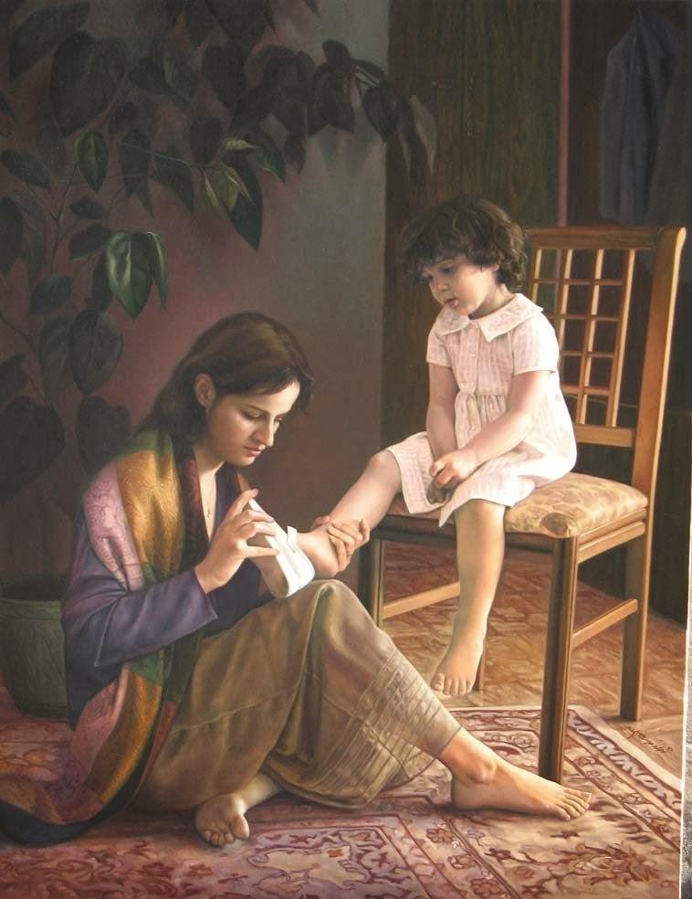 صورة صور معبرة عن الامومة , رمزيات للام واولادها