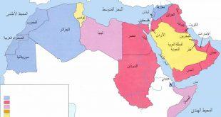 صور خريطة الجزائر الجغرافية , موقع دولة الجزائر ومدنها جغرافيا