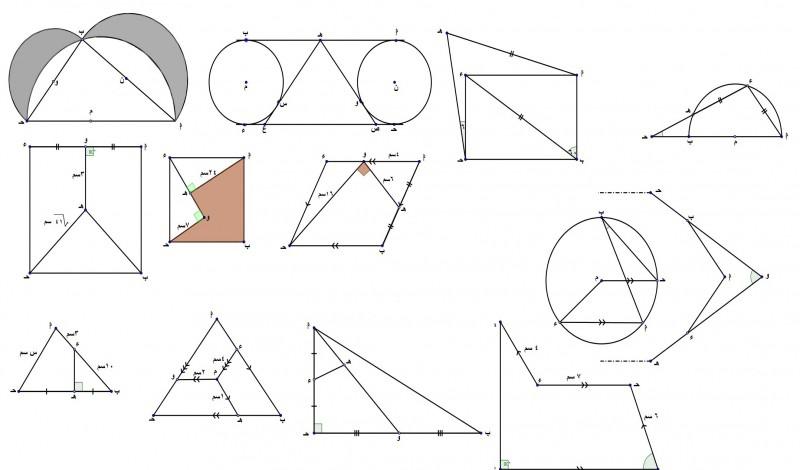 بالصور رسومات هندسية بسيطة , تشكيلة مختلفة من احدث الرسومات والاشكال الهندسية 1937 18