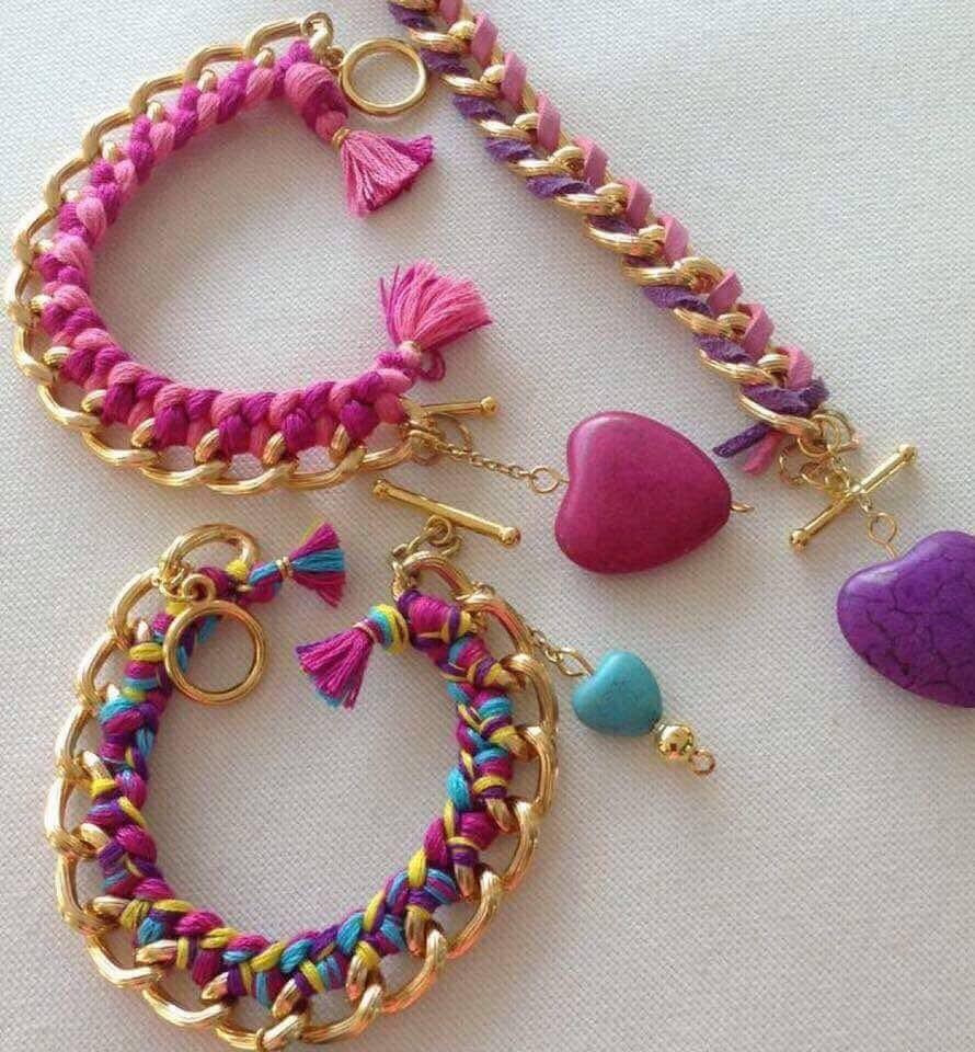 صورة اكسسوارات هاند ميد , تشكيلات مجوهرات مصنوعة يدويا