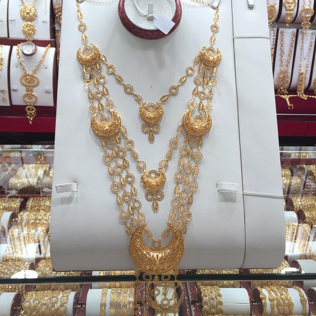 صورة اطقم ذهب كويتي , تشكيلات الذهب القيم