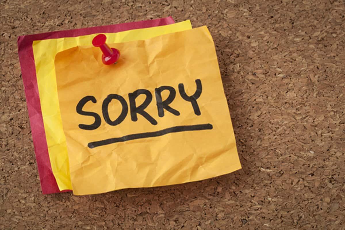 صورة كلمة اعتذار للحبيب , طلب العفو من الحبيب