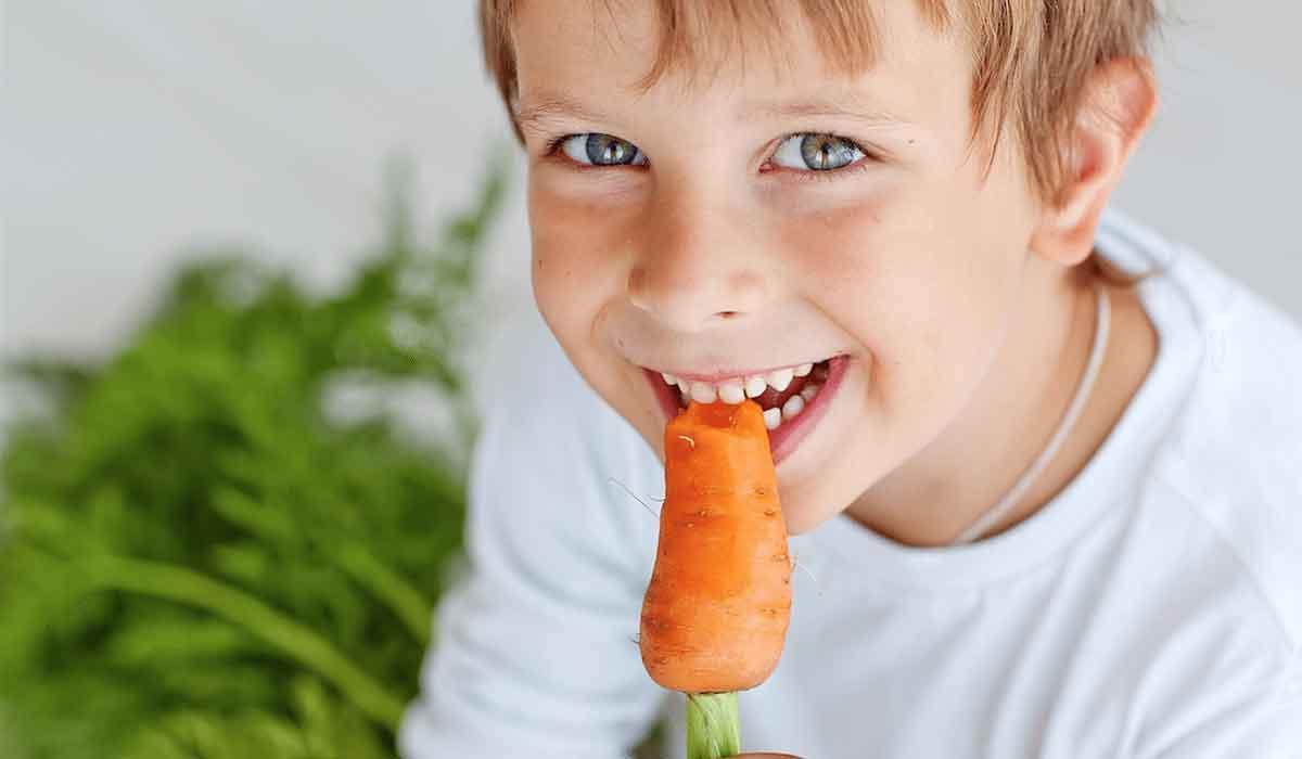 صورة فوائد الجزر للاطفال , وجبة حفيفة بفائدة كبيرة