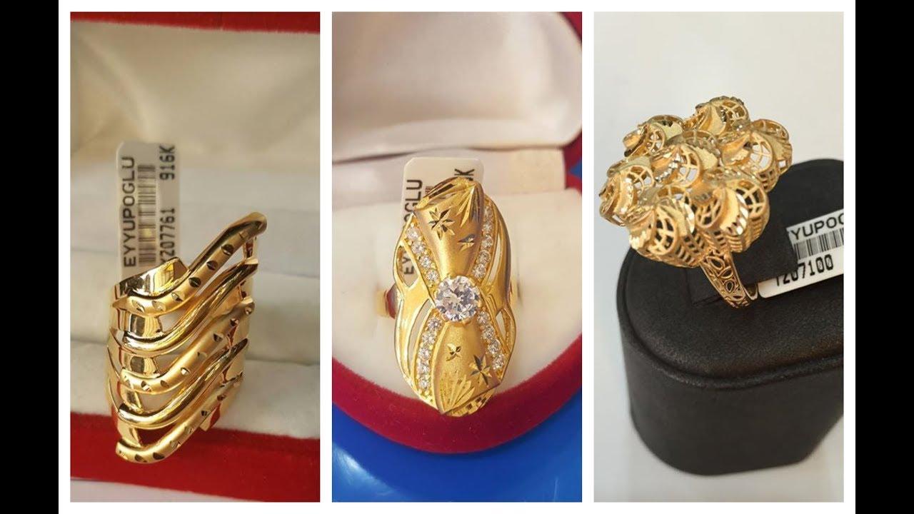 صورة اجمل خواتم ذهب , استمتعى باختيار ما يناسبك من الخواتم