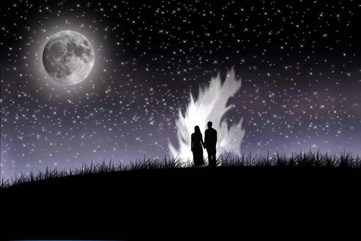 صورة عبارات عن جمال القمر , صخور القمر تعطية الجمال