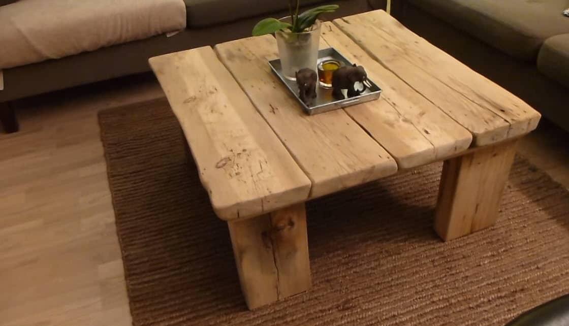 صورة كيف تصنع طاولة من الخشب , اسهل طريقة لصنع طاولة من الخشب