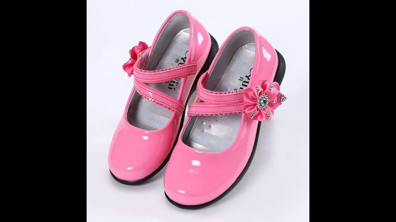 صورة احذيه بنات صغار , اجمل احذيه وصنادل بنات صغار